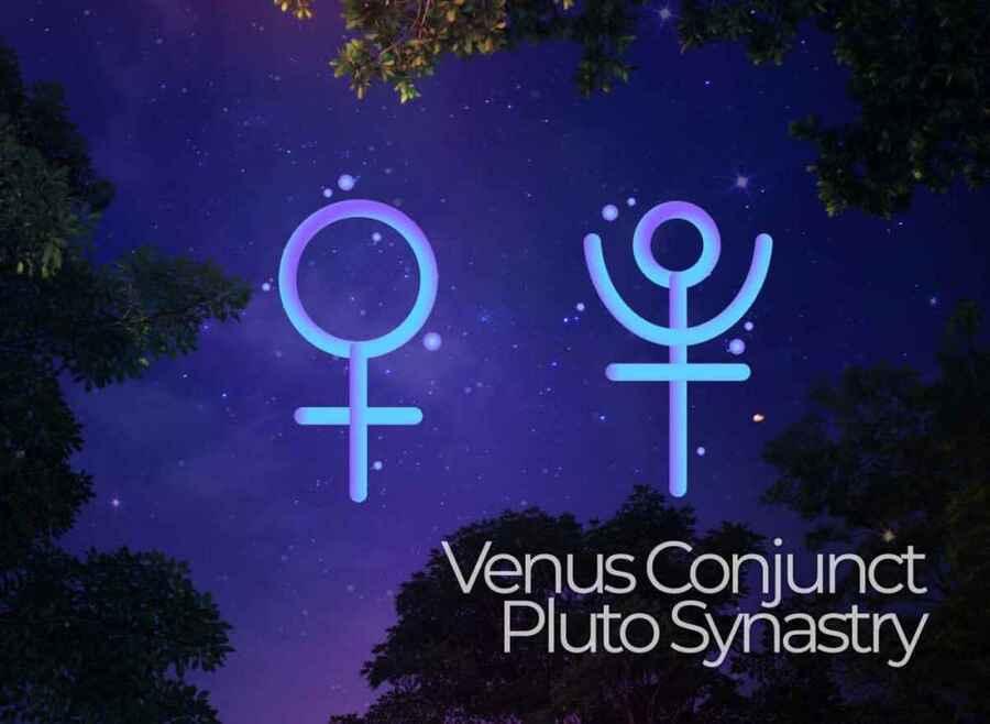 Venus Conjunct Pluto Synastry