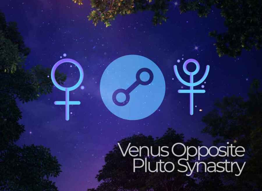 Venus opposite Pluto Synastry