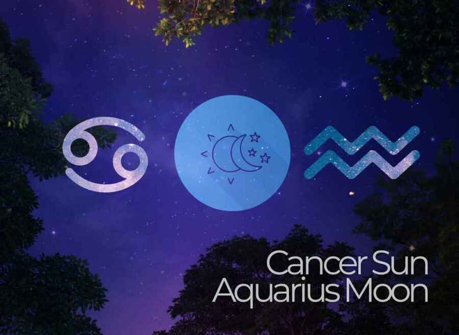 Cancer Sun Aquarius Moon