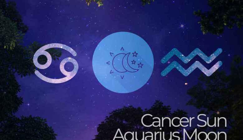Cancer Sun Aquarius Moon