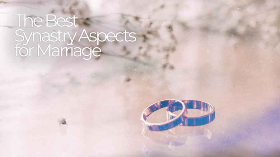 Best Synastry Aspects for Marriage