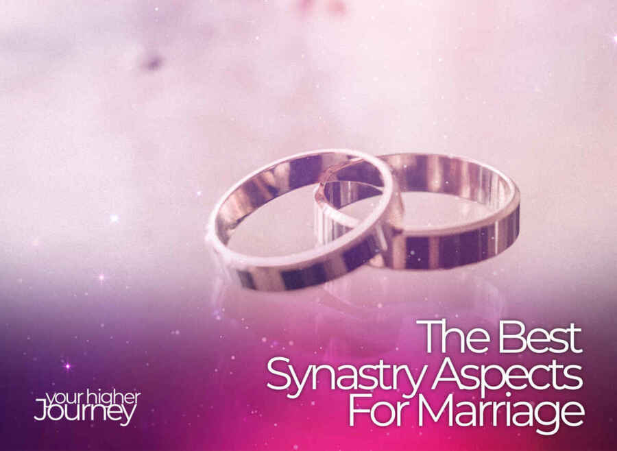 The Best Synastry Aspects for Marriage
