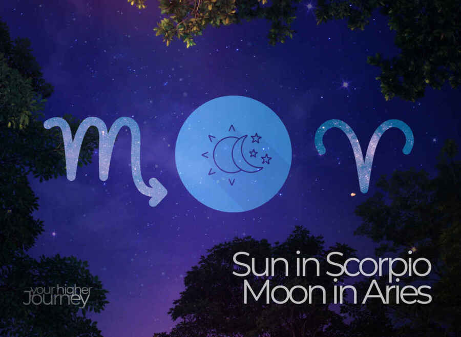 Sun in Scorpio Moon in Aries