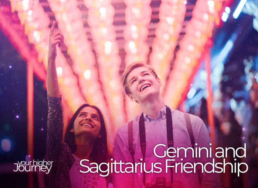 Gemini and Sagittarius Friendship