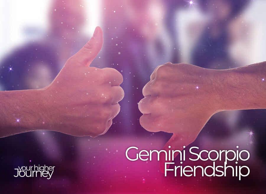 Gemini Scorpio Friendship
