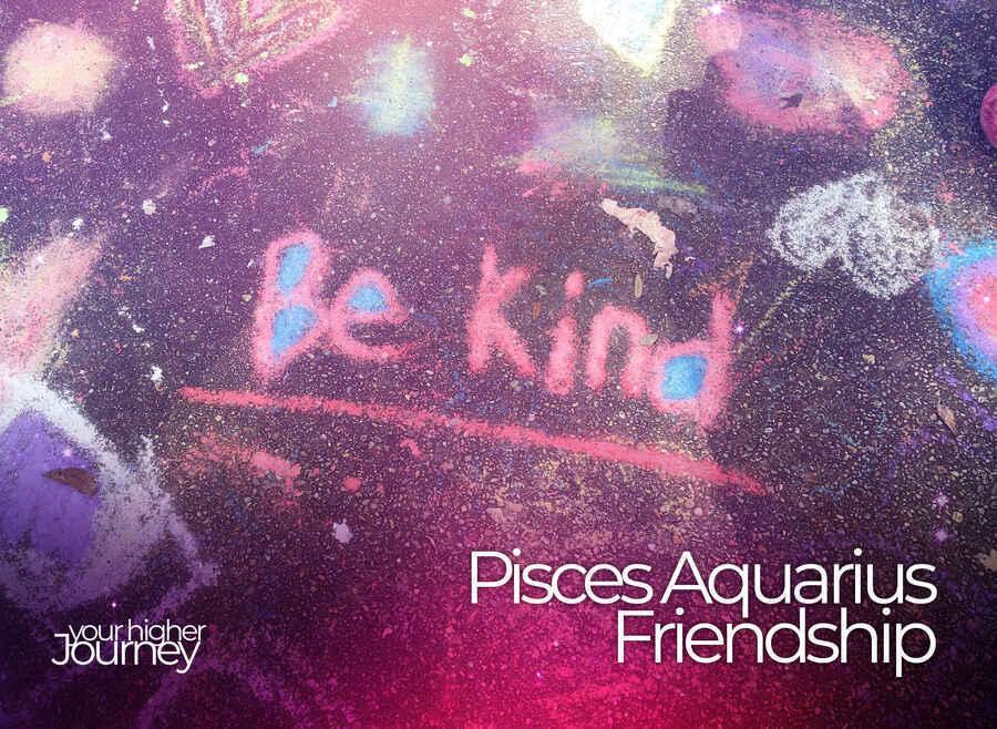 Pisces and Aquarius Friendship