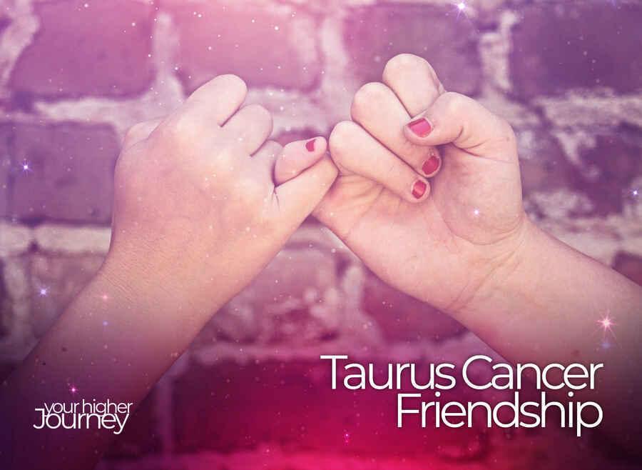 Taurus and Cancer Friendship