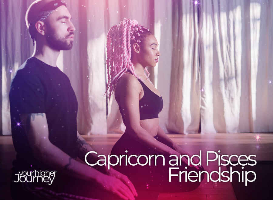 Capricorn and Pisces Friendship