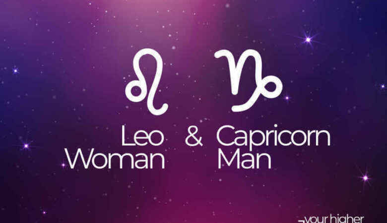 Leo Woman and Capricorn Man