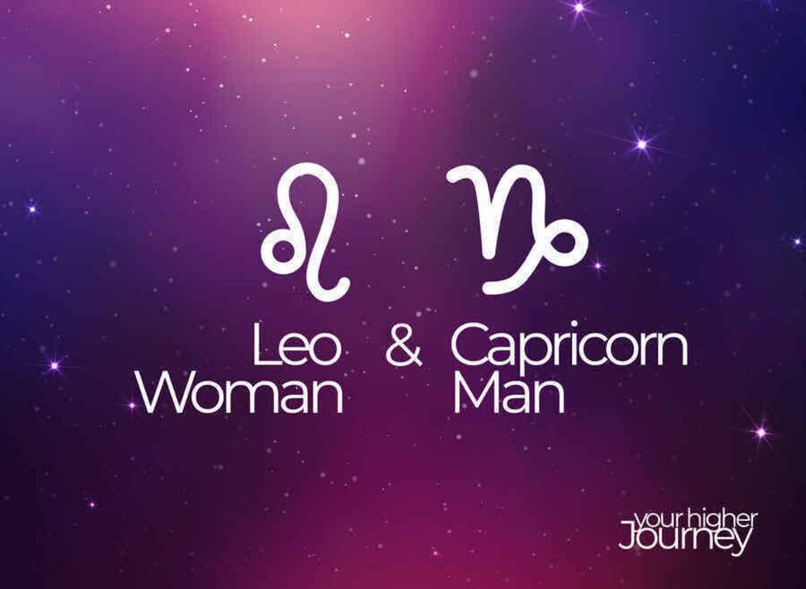 Leo Woman and Capricorn Man