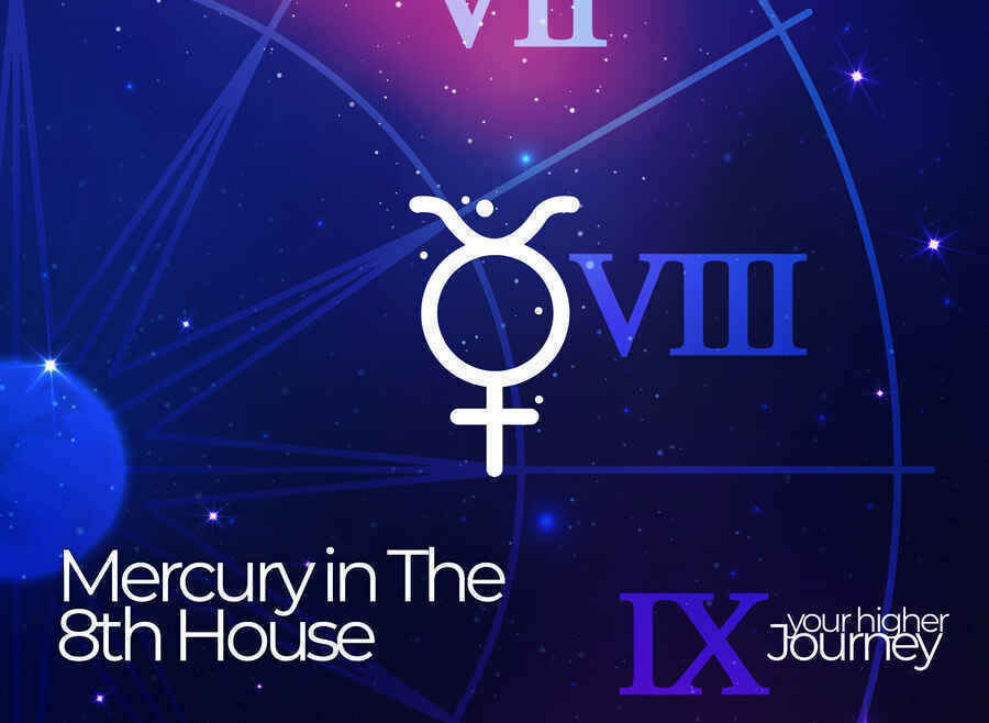Mercury in the 8th house
