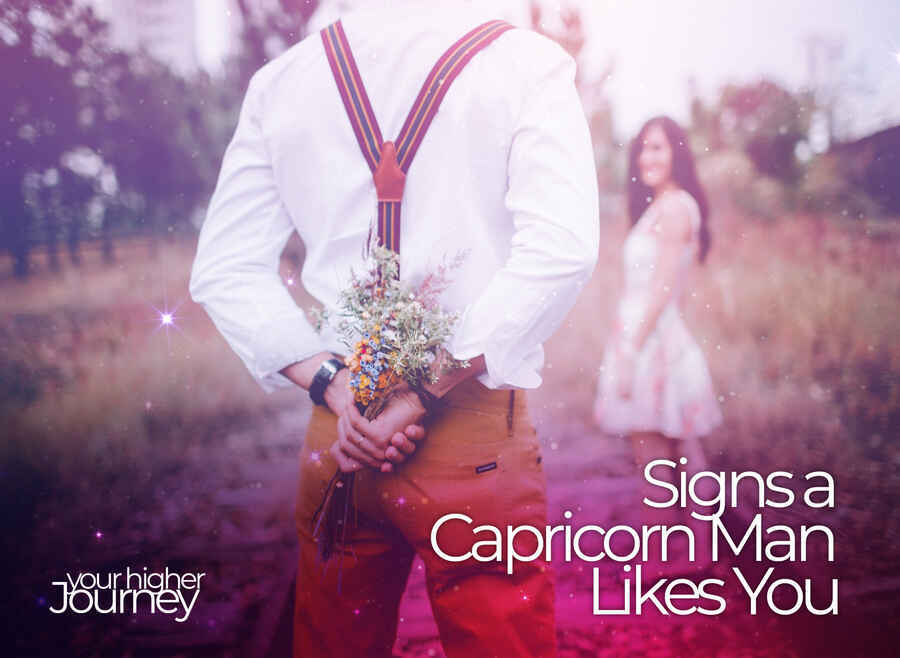 Signs a Capricorn Man Likes You