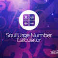 Soul urge number calculator