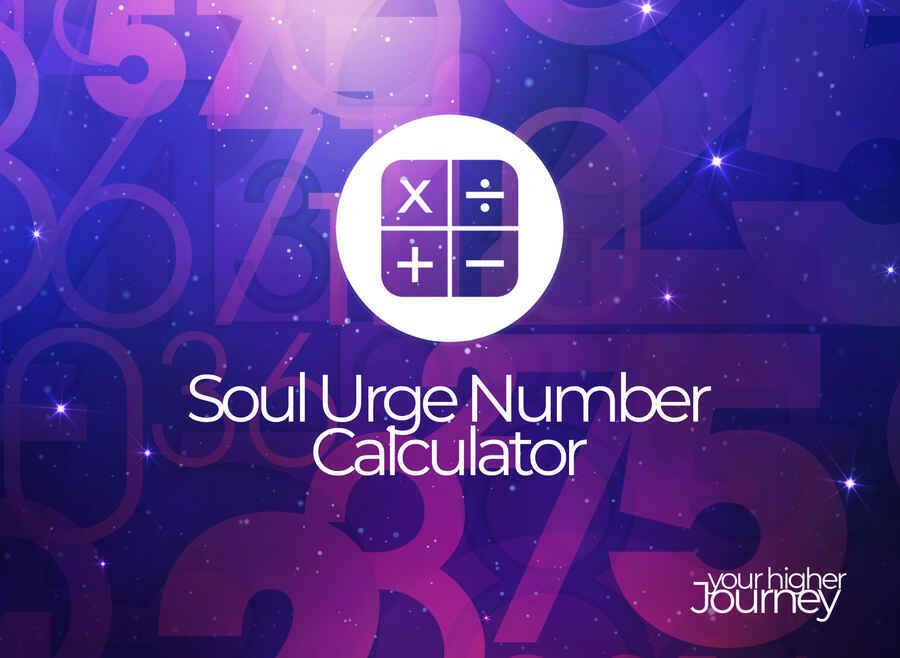 Soul urge number calculator