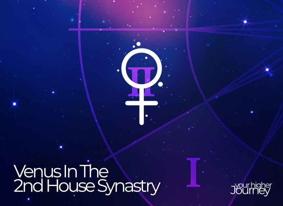 venus in the 2nd house synastry