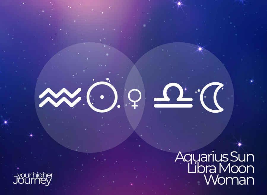 Aquarius Sun Libra Moon Woman