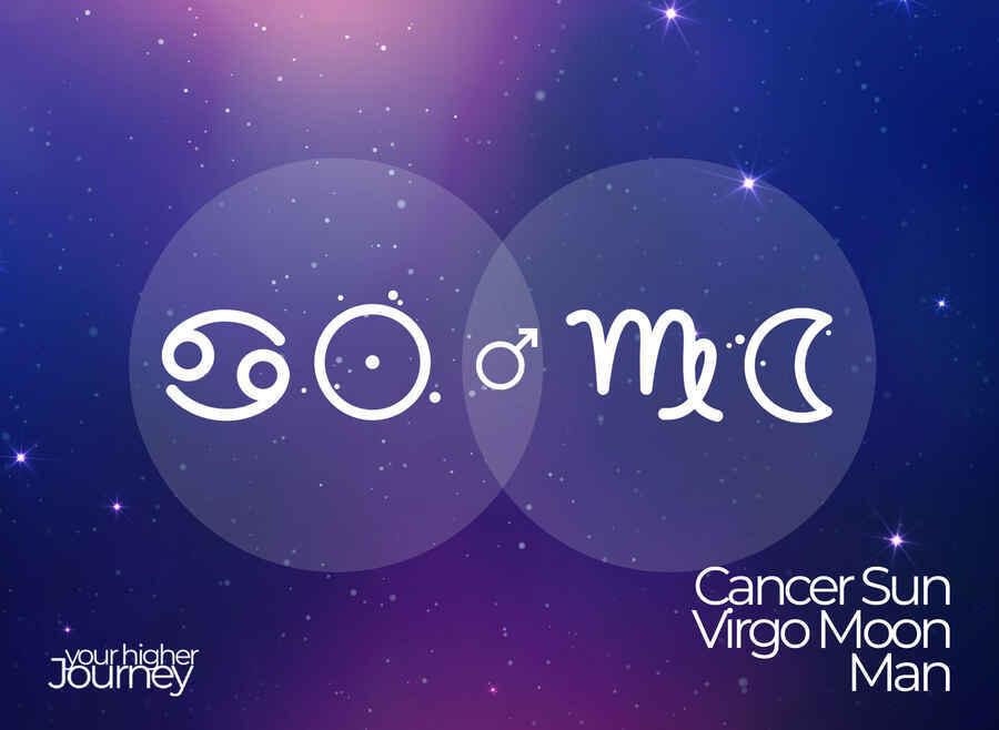 Cancer Sun Virgo Moon Man