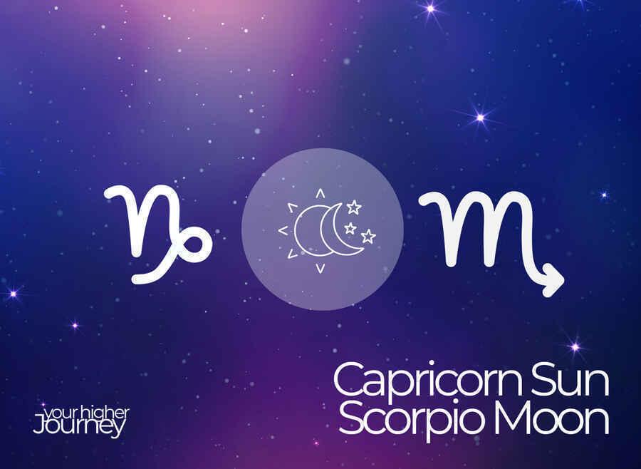 Capricorn Sun Scorpio Moon