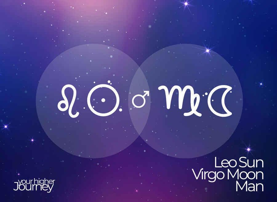 Leo Sun Virgo Moon Man