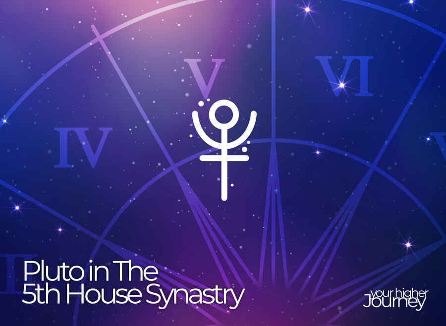 Pluto in The 5th House Synastry