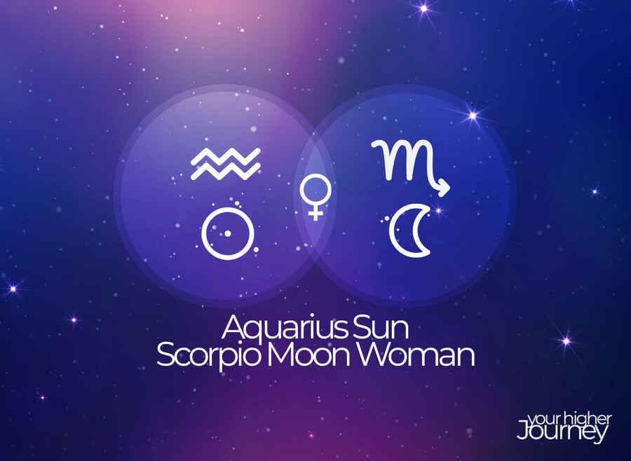 Aquarius Sun Scorpio Moon Woman