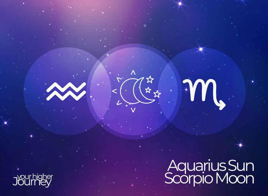 Aquarius Sun Scorpio Moon