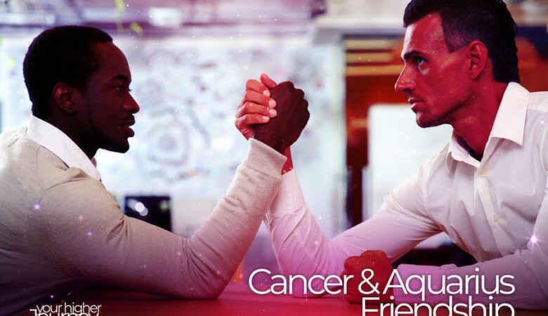 Cancer and Aquarius Friendship