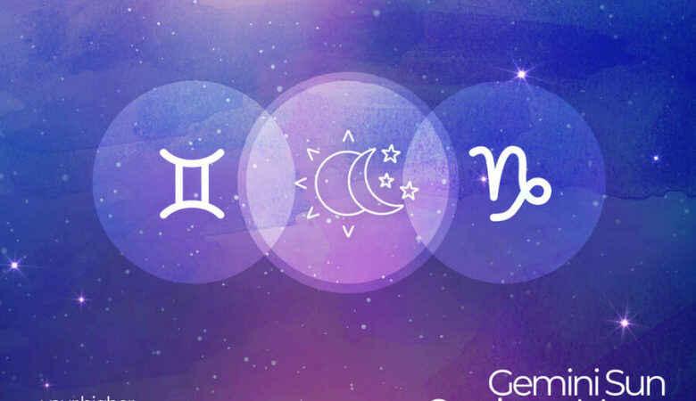 Gemini Sun Capricorn Moon