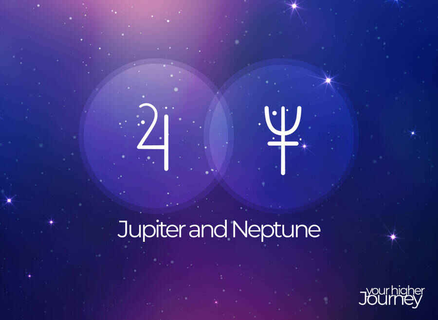 Jupiter and Neptune