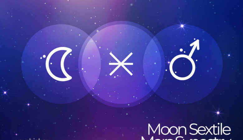 Moon Sextile Mars Synastry
