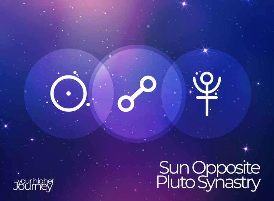 Sun Opposite Pluto Synastry