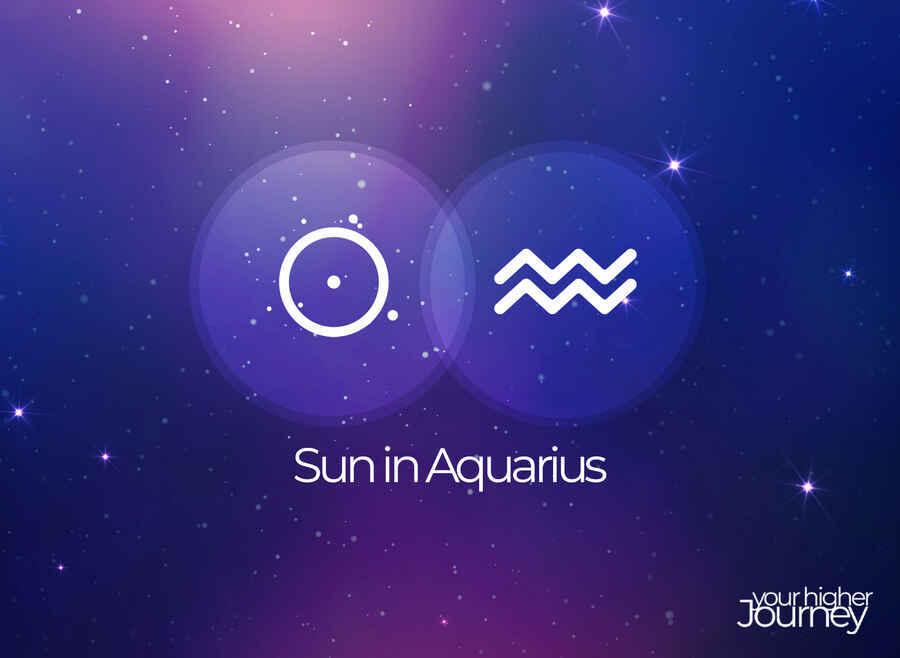Sun in Aquarius