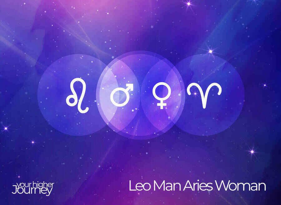 Leo Man Aries Woman