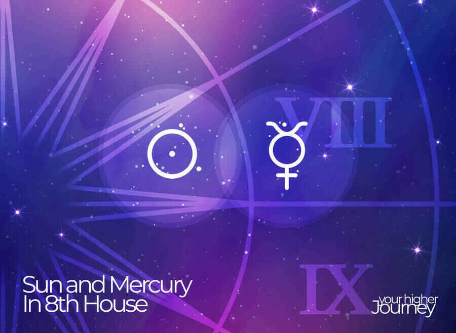 Sun and Mercury in 8th House