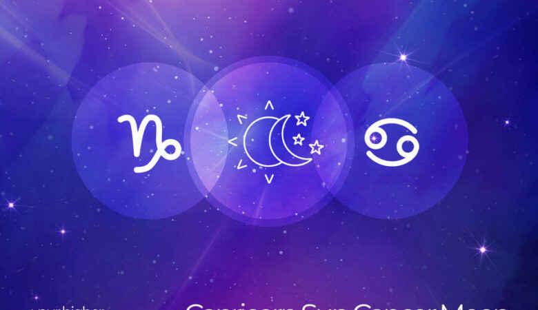Capricorn Sun Cancer Moon