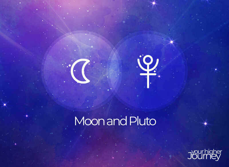 Moon and Pluto